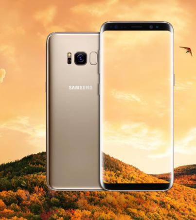 Samsung Galaxy S8+ Plus Maple Gold เครื่องศูนย์ ประกัน1ปี