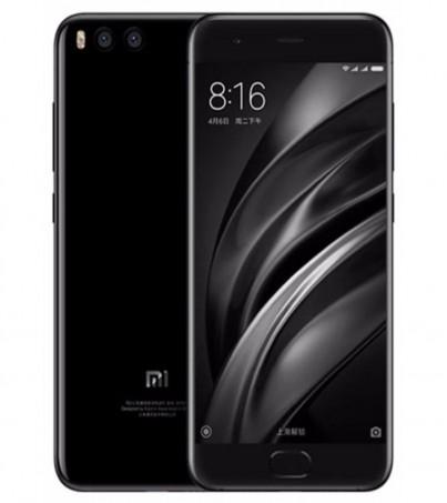 Xiaomi Mi 6 Dual Sim (Ram6GB, Rom128GB) - Black - intl
