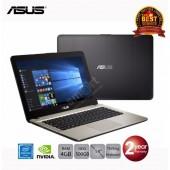 Notebook Asus X441NC-GA008 (Black) Intel Dual-Core Pentium N4200