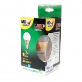 หลอดไฟ LED MD-tech E27 B1-7W (WW) ส้ม