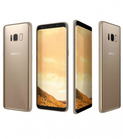 (Refurbish) Samsung Galaxy S8+ Plus Midnight Gold