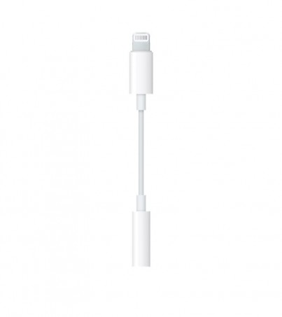 Apple Lightning to headphone Jack adapter(earpods iphone7)