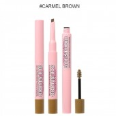 3CE STUDIO COLORING BROW PENCIL&MASCARA CARMEL BROWN