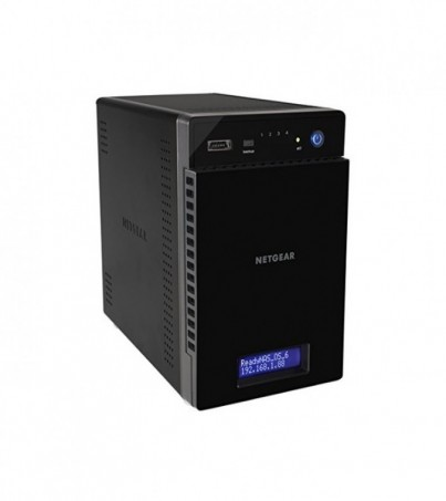 Netgear ReadyNAS 214. 4 Bays with up to 32TB Storage. Media Hub for Your Home. Fast Secure Access and Backup RN21400
