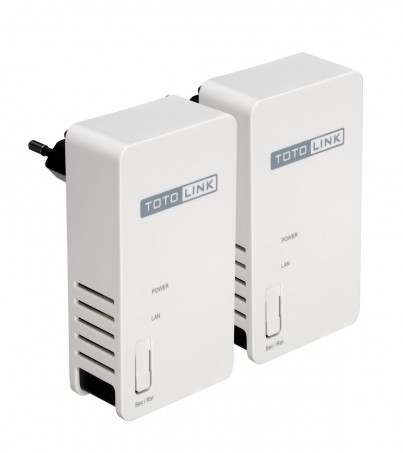 TOTOLINK 200Mbps Powerline Adapter Twins package PL200KIT