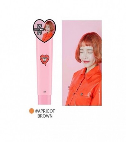 3CE TREATMENT HAIR TINT APRICOT BROWN