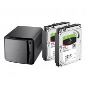 Zyxel NAS540 BUNDLE with Seagate Ironwolf 2TB *2