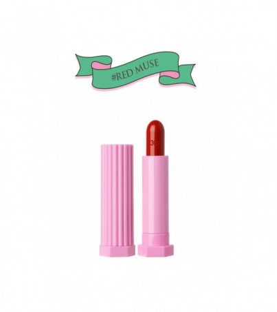 LOVE 3CE GLOSSY LIP STICK#RED MUSE
