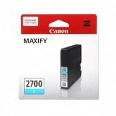 Canon PGI-2700Cตลับหมึกอิงค์เจ็ท สีฟ้าCyan Original Ink