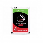 Seagate IronWolf HDD 4TB (ST4000VN008) Hard Drive for NAS 5900RPM Cache 64MB