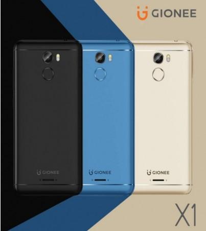 GIONEE X1 Blue (ปรกันศูนย์ 1ปี) สั่งรุ่นใดก็ได้วันนี้ครบ2เครื่อง รับฟรี Box Set Gionee 1 Set ทันที