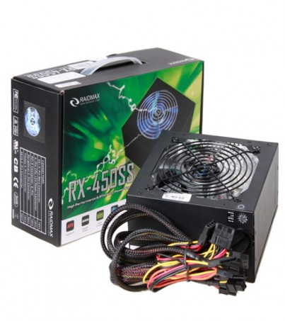 RAIDMAX PSU (FULL) 450w. (Box/Cable)