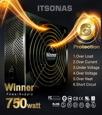 PSU (80+ Bronze) ITSONAS Winner 750W.