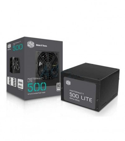 COOLER MASTER PSU (80+ White) Watt Lite (500W.)