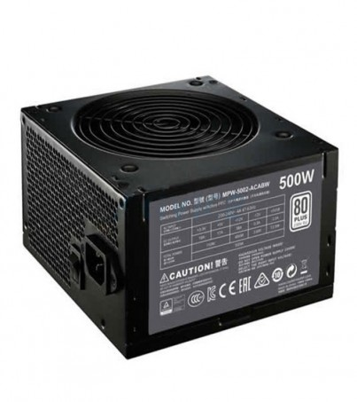 COOLER MASTER PSU (80+ White) MWE500 (500W.)