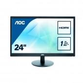 """AOC LED 24"""" AOC E2470SWH (HDMI)"""
