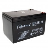Matrix Battery 12Ah 12V