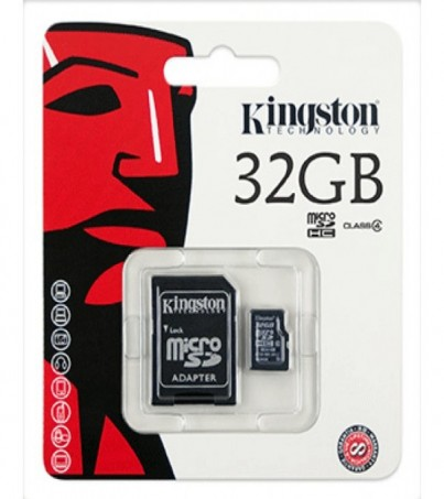 Micro SD 32GB Kingston (SDC4 Class 4)