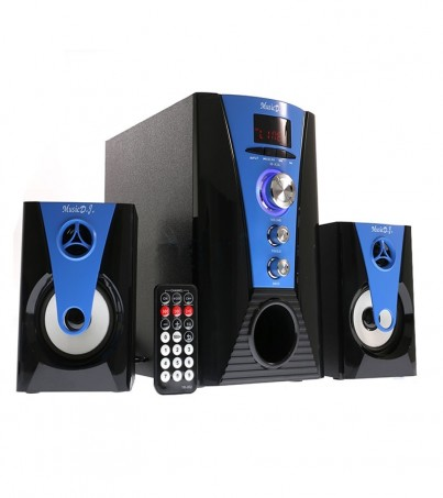 (2.1) Music D.J. BLUETOOTH (M-X3A) Blue