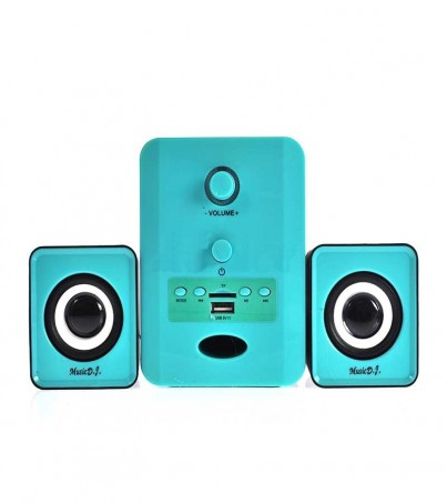 (2.1) Music D.J. Bluetooth (SP-28) Blue
