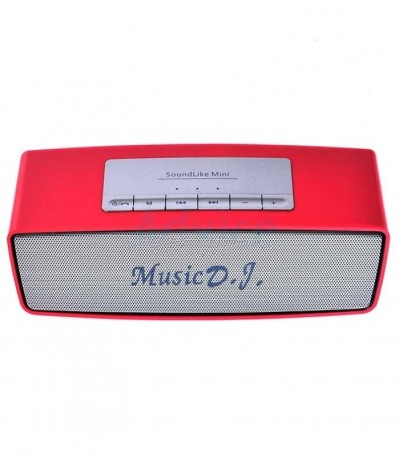 Music D.J. Bluetooth (S815) Red