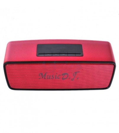 Music D.J. Bluetooth (S2025) Red