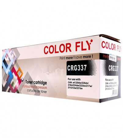 Toner-Re CANON CN337 Color Fly