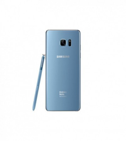Samsung galaxy note FE blue coral