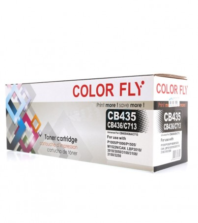 Toner-Re HP CB435A/436A Color Fly