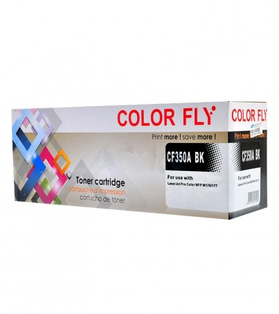Toner-Re HP 130A-CF350A BK Color Fly