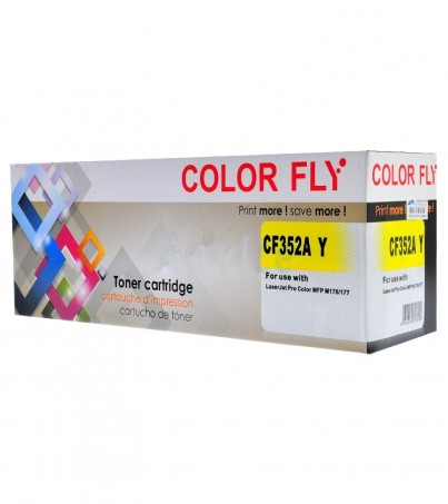 Toner-Re HP 130A-CF352A Y Color Fly