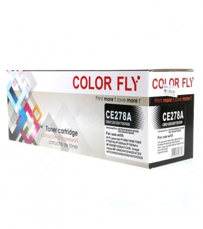 Toner-Re HP CE278A Color Fly