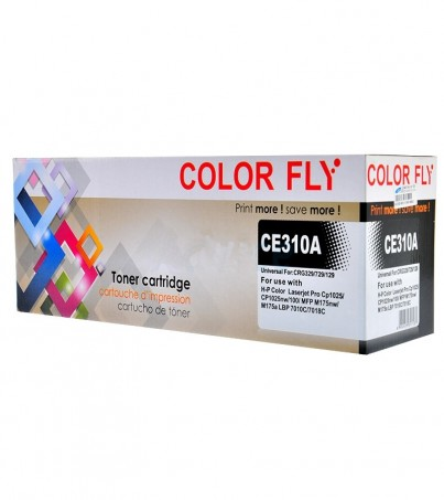 Toner-Re HP 130A-CE310A BK Color Fly