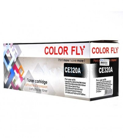 Toner-Re HP 128A-CE320A BK Color Fly