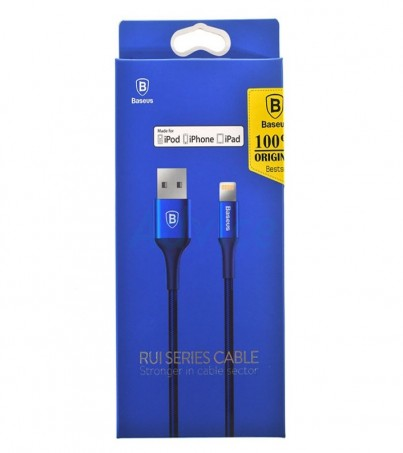 BASEUS Cable Charger for iPhone (1M Rui) Navy Blue