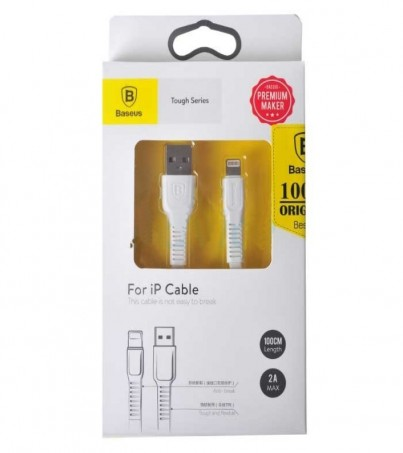BASEUS Cable Charger iPhone (1M TOUGH) White