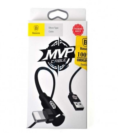 BASEUS Cable Charger iPhone (1M MVP) Black
