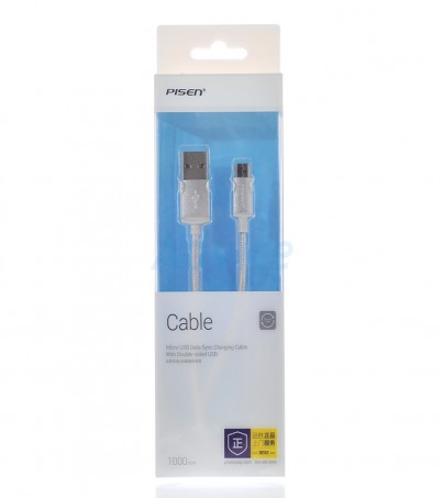 PISEN  Cable USB To Micro USB (1M MU12-1000)