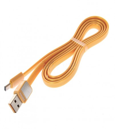 REMAX Cable USB 2.0 to Type C (1M 044a) Metal Gold