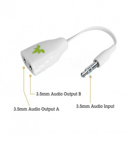 AVANTREE Cable 3.5 AUX Audio (Tano) White