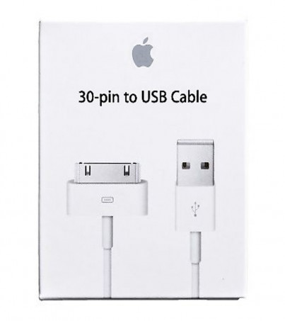 Apple 30-pin to USB Cable with box