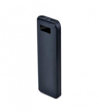 PRODA POWER BANK LCD 20000 mAh Black