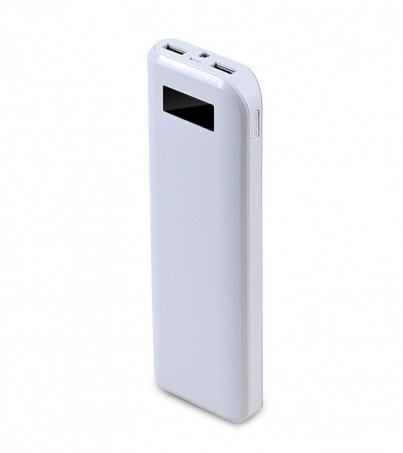 PRODA POWER BANK LCD 20000 mAh White
