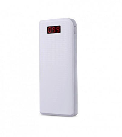 PRODA POWER BANK LCD 30000 mAh White