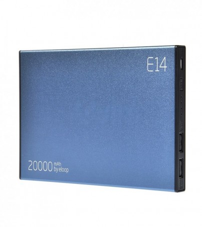 Eloop POWER BANK 20000 mAh (E14) Black