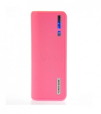 POWER BANK 5600 mAh (bag) Pink