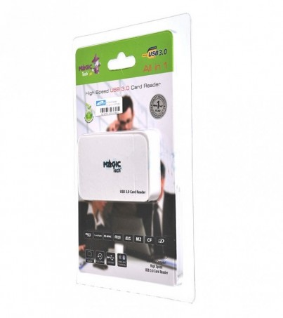 Magictech Ext. Card Reader All in 1 (MT-695) White USB3.0