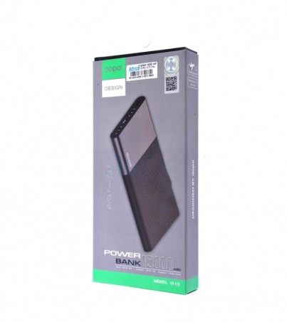 DOPO POWER BANK 15000 mAh (D15) Grey