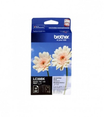 BROTHER INK CARTRIDGE LC-39BK
