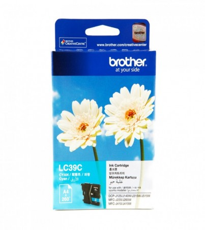 BROTHER INK CARTRIDGE LC-39C
